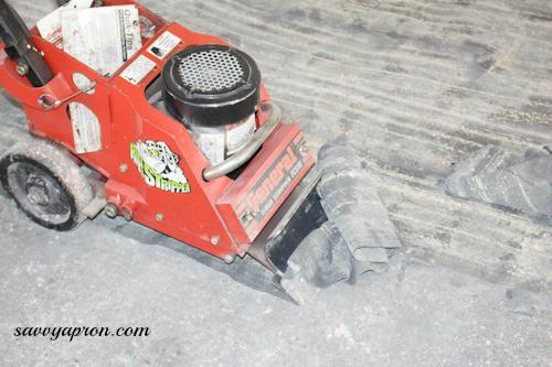How To Get Carpet Glue Off Concrete Porch