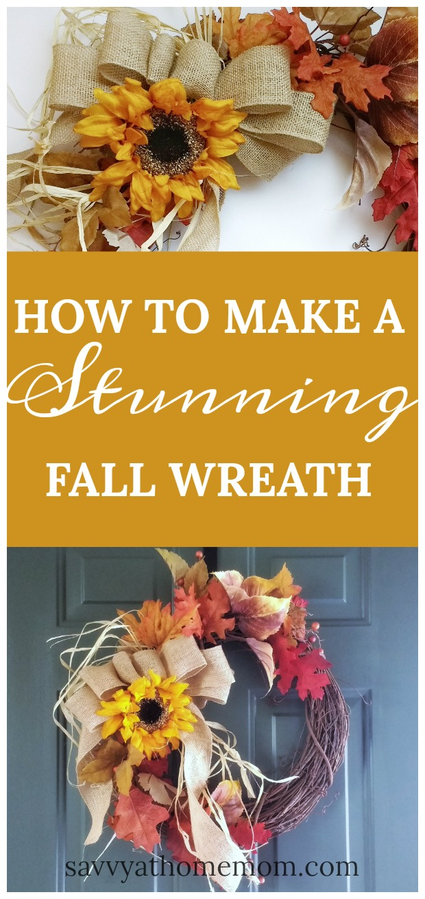 How to Make a Stunning Fall Wreath