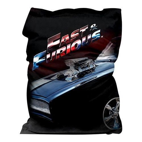 Fast and Furious Bean Bag Giant Bag Deal with Quilt Duvet