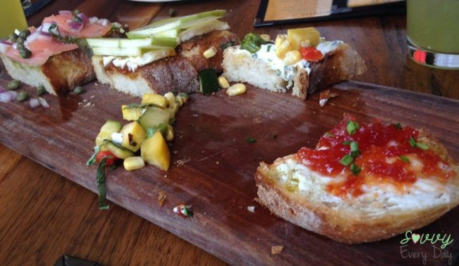 The best Bruschetta I've ever tasted. Ever.