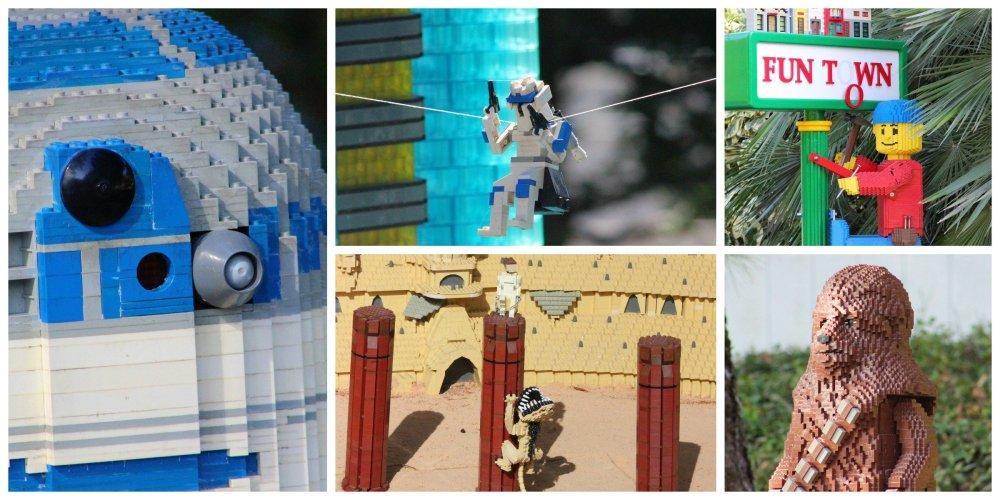 Star Wars Legos at Legoland