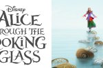 Collage of Alice Through the Looking Glass poster and movie title