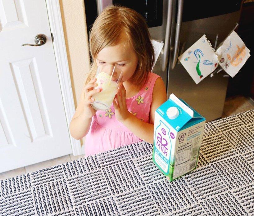 drinking A2 milk angle