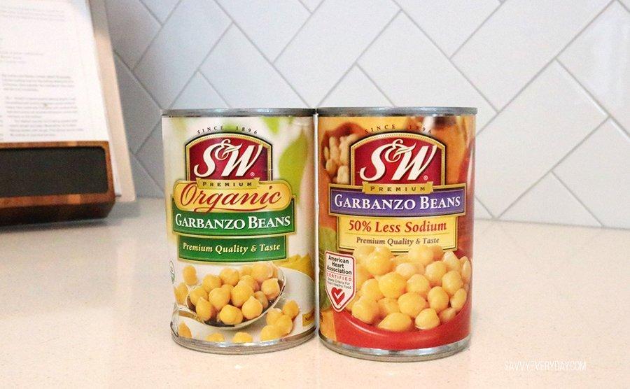 S&W bean cans