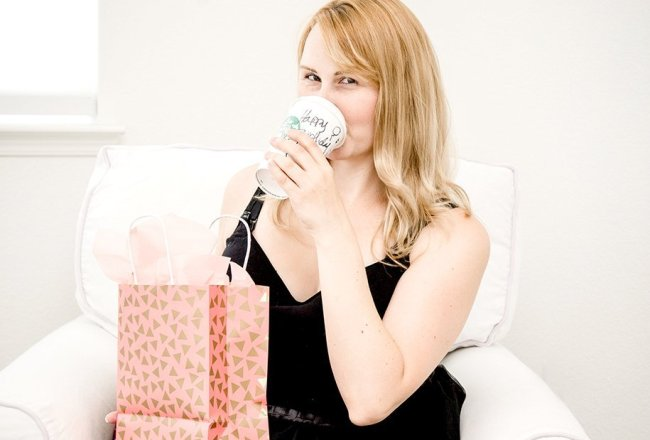 drinking birthday Starbucks drink