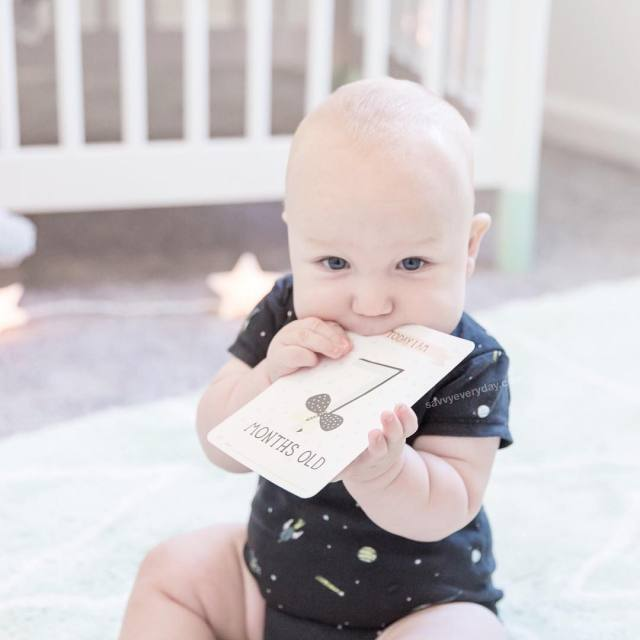 Someone turned 7 months this past week and got hishellip