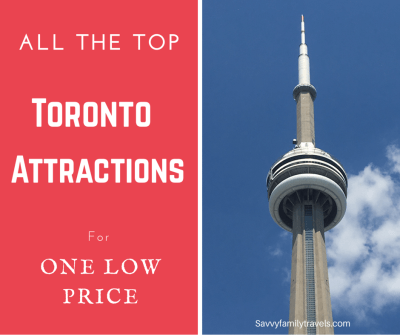 All the Top Toronto Attractions for one low price