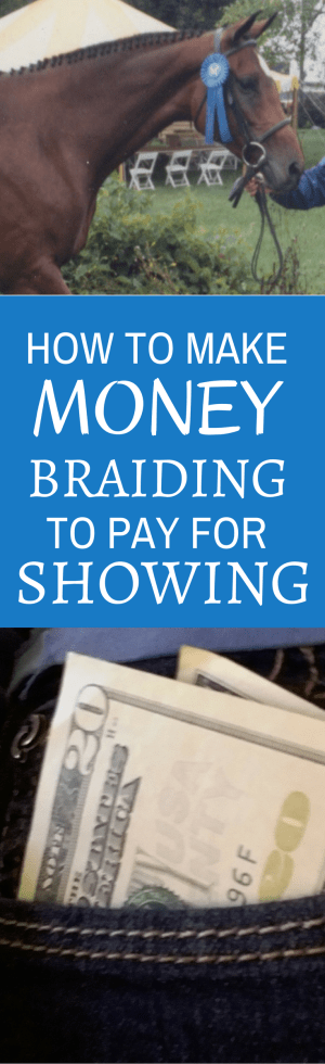 How to Make Money Braiding Horses - Savvy Horsewoman