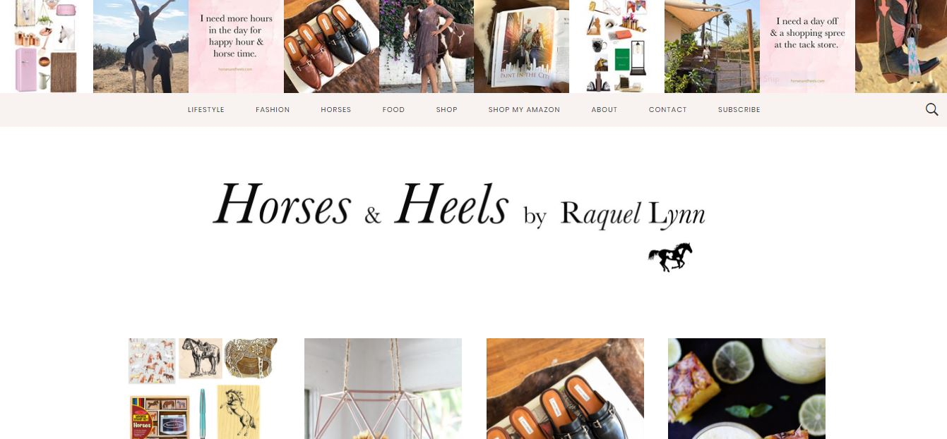 Horses and Heels Equestrian Blog