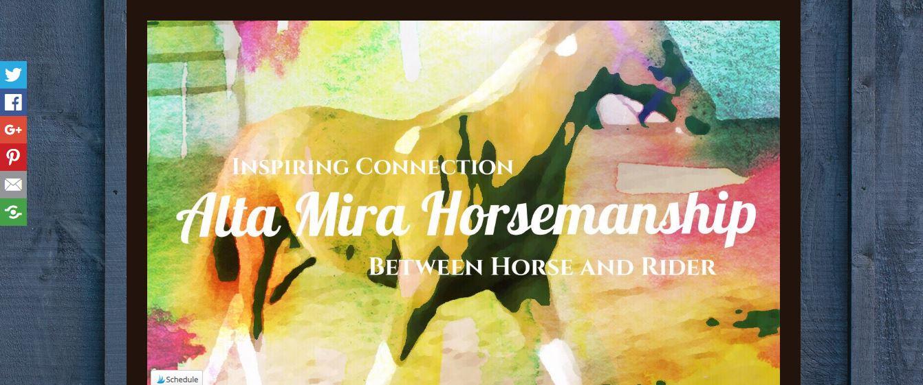 Alta Mira Horsemanship Blog