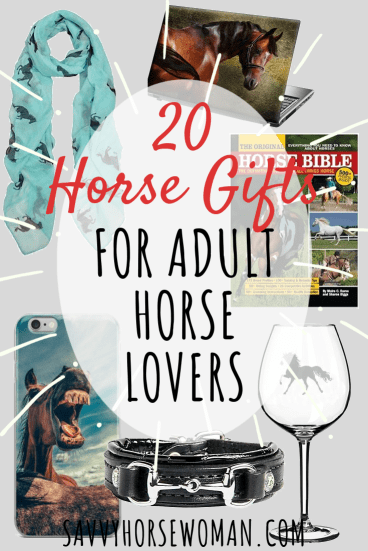 20 Horse Gifts for Adults and Horse Lovers - Savvy Horsewoman