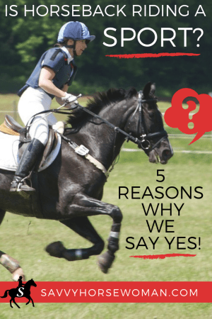 Is horse riding a sport or hobby? Get the facts on why horseback riding is a sport!