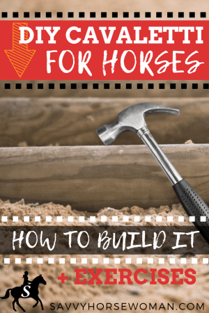 Get 4 easy DIY options to build your own horse Cavaletti at home, plus fun Cavaletti training exercises for the walk, trot and canter.