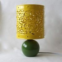 Savvy Housekeeping  Tin Can Lamp Shade