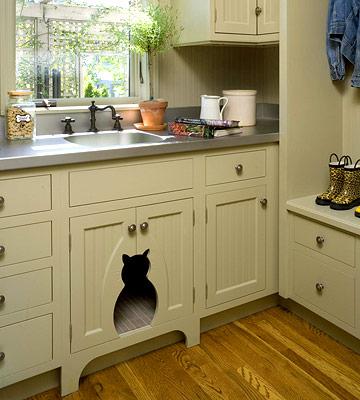 savvy housekeeping » kitchen storage ideas
