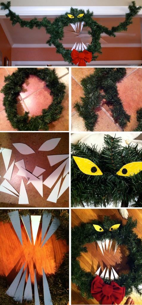 Savvy Housekeeping Christmas Decoration Nightmare Before Christmas Wreath