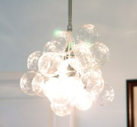 Savvy Housekeeping  Make Your Own Bubble Chandelier