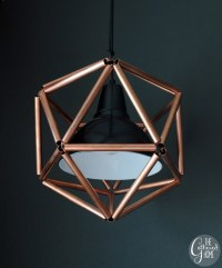 Savvy Housekeeping  Make Your Own Copper Pipe Icosahedron