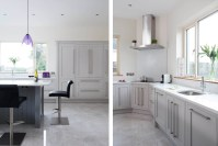 Classic contemporary handmade kitchen, Tipperary, painted ...