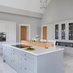 How To Build A Kitchen Island With Breakfast Bar White Backsplash Ideas Classic Style Inframe Painted And Grey ...