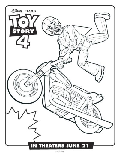 FREE Printable Toy Story 4 Coloring Pages & Activity