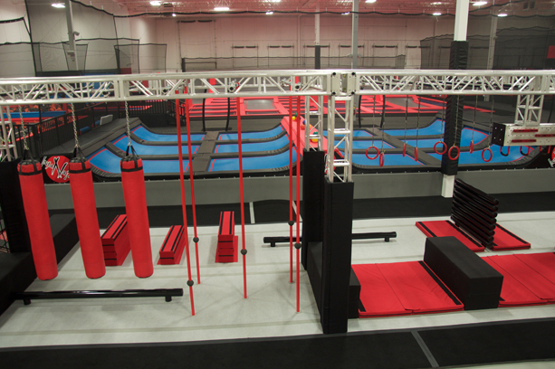 Inner obstacle courses for kids of all ages