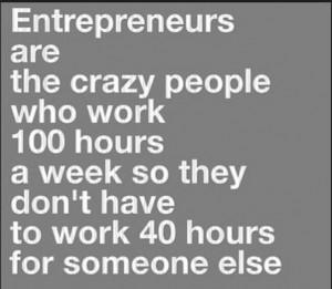 Entreprenuers quote