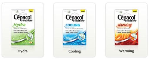 Free Samples - Cepacol Sensations