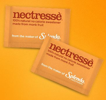 Free Natural Sweetener - Nectresse by Splenda