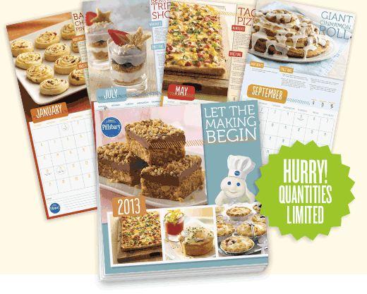 Free Pillsbury Calendar