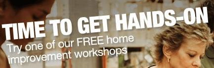 Free Home Improvement Workshops