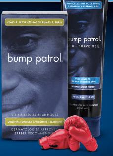 Free Bump Patrol Samples