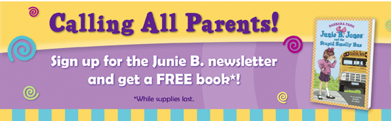 Free Junie B Jones Book