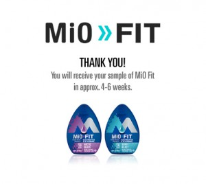 Free Mio Fit Water Enhancer