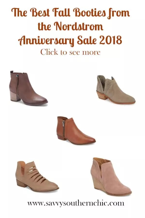 Best Fall Booties Nordstrom Anniversary Sale