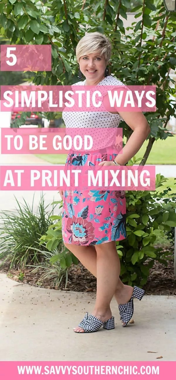 5 easy ways to pattern mix