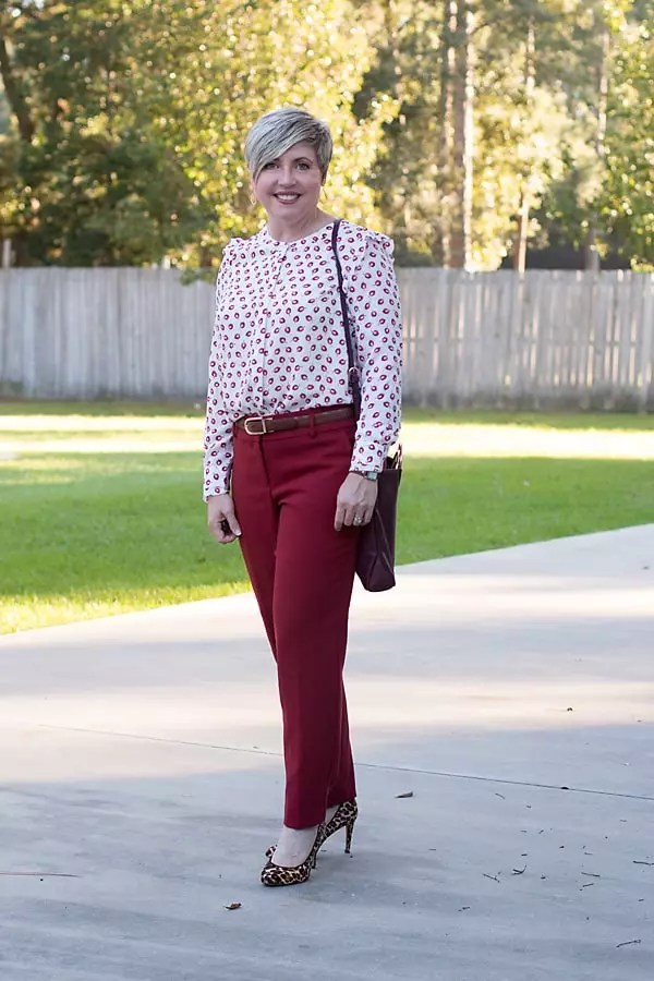 fall colors, work attire