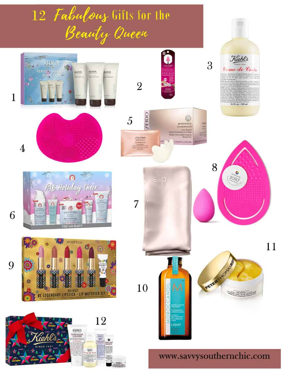 beauty gifts, gifts for the beauty queen