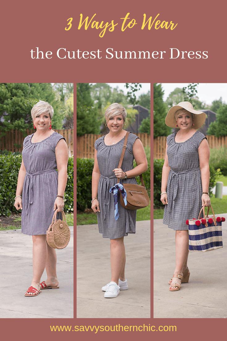 3 ways to wear the cutest summer dress