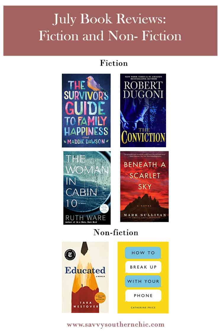 July book reviews
