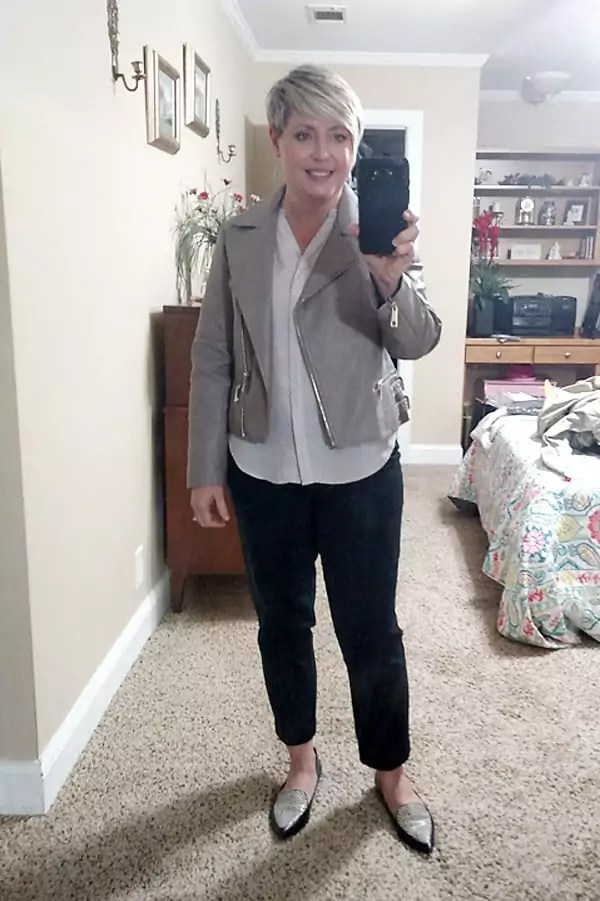moto jacket outfit