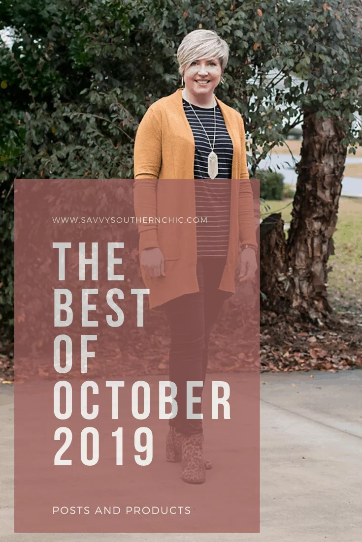 The Best of October- Posts and products