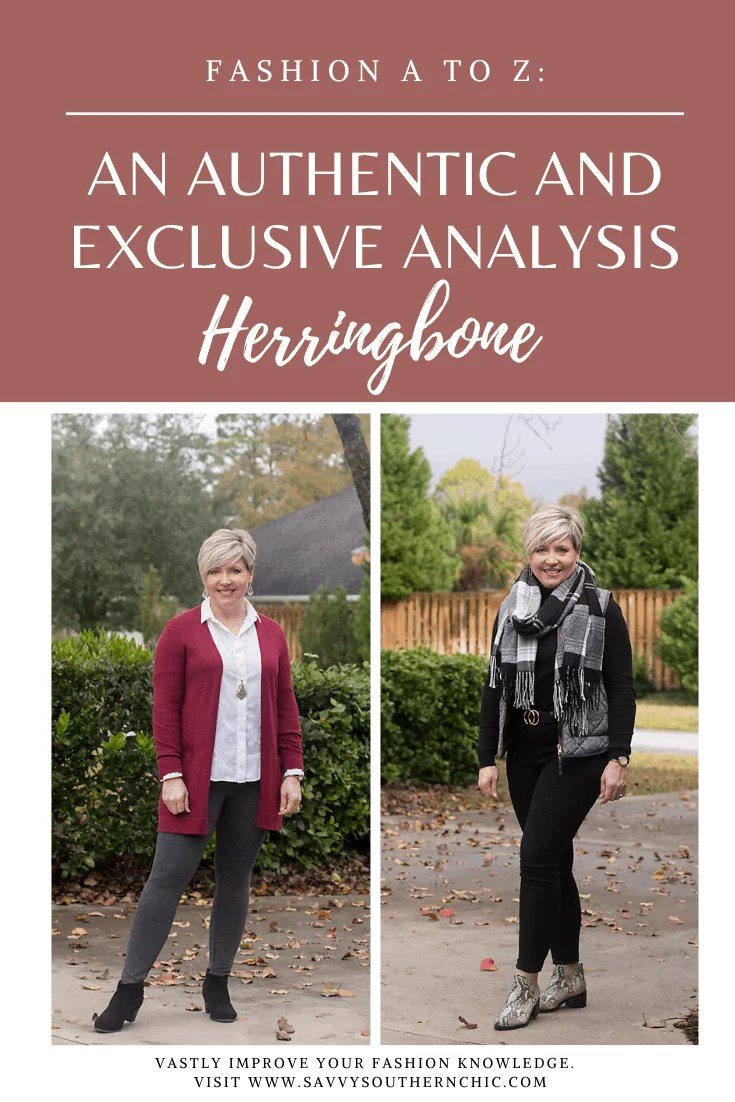 herringbone outfits