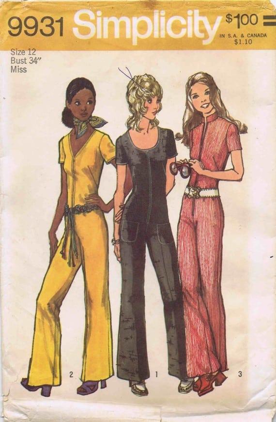70s jumpsuit styles