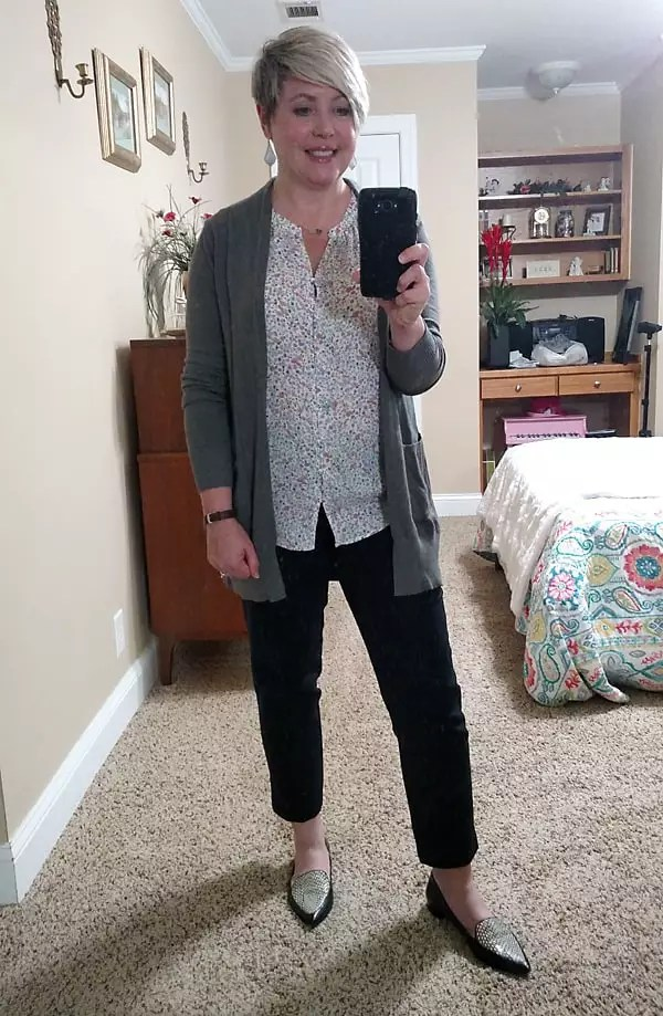 casual work at home outfit or office outfit/ business casual attire