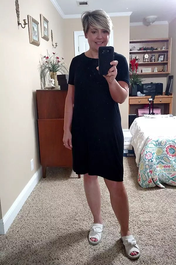 summer tshirt dress outfit