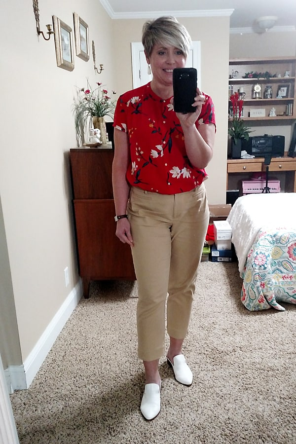 work at home summer outfit
