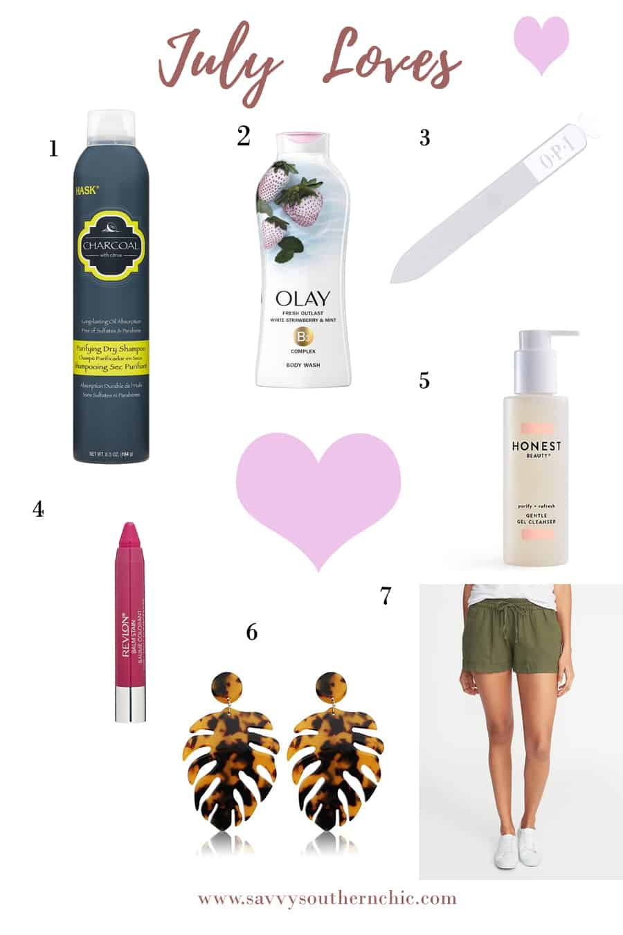 Favorite products for July