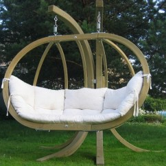 Hanging Chair Double Purple High Back Amazonas Outdoor Garden Globo Royal Natura With Stand Savvysurf Co Uk