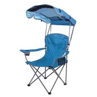 Kelsyus Original Canopy Portable Chair Blue - savvysurf.co.uk